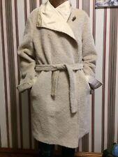 Max Mara Beige Alpaca Reversible Coat Trench women s Sz 42 US 12 L ITALY 2f68bdc4df7