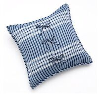 "CHAPS Home SHELTER ISLAND Pillow Size: 20 x 20"" NEW Decorative Throw Cotton"