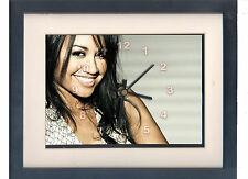 Jessica Mauboy. Framed print and clock. Australian Idol. Music memorabilia.