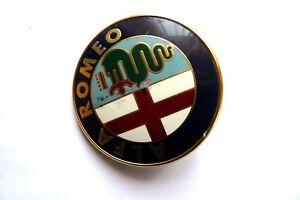 Logo d(origine Alfa Romeo - Monogramme - Emblème - Vintage Badge