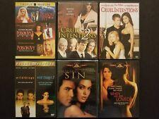 Erotic Thriller DVD Lot: Poison Ivy Cruel Intentions Wild Things Original Sin