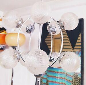 SPUTNIK ATOMIC   SPACE PENDANT LAMP 50s