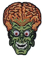 Mars Attacks Movie Brain Alien Embroidered Patch Large Size