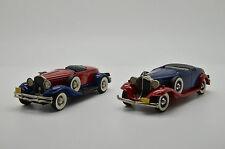 RARE ! Parckard BRK 6a 1932 Hudson BRK 12 1931 Brooklin Set 1990 1/43