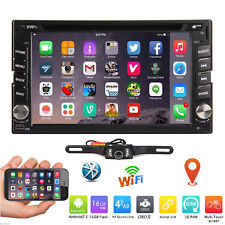 "6.2"" Smart Android7.1 4G WiFi Double 2DIN Car Radio Stereo DVD Player GPS+Camera"