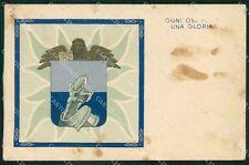 Militari Gruppo Squadroni L 35 San Marco ABRASA FG cartolina XF4095
