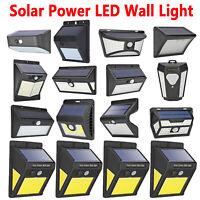 20/30/40/50/60/70/118LED Solar Powered PIR Motion Sensor Wall Light Garden Lamps