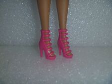 Barbie Shoes -  Extreme Or Stiletto High Heel Stappy Fashionista Shoes Bold Pink