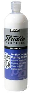 Pebeo Studio Acrylic Auxiliaries Pouring Medium 1 Litre