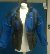 LADIES SMALL FRANK THOMAS MOTORCYCLE JACKET FULLY LINED. CHARITY SALE