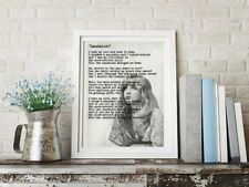 Stevie Nicks Fleetwood Mac Landslide Art Print