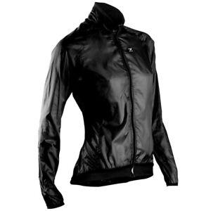 Sugoi Women's Black RS Saddle Bag Jacket Size Large