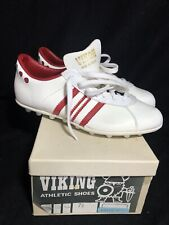 Vintage Viking Vikon Soccer Cleats Shoes Deadstock 7.5 Made In France Rare