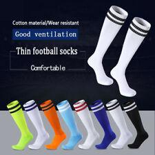 Men Sport Football Soccer Long Socks Boys Knee High Bottom Non-slip Socks Sox US
