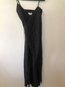 Sir the Label Wrap Linen Dress Size 1