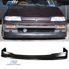 For 88-89 Honda Civic 3Dr 88-91 Civic Wagon Front Bumper Lip Zenki Style PU