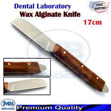Dental Laboratory Plaster Alginate Knife Denitist Mixing Modeling Waxing Carving