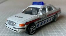 """Realtoy Diecast Toy Car - Ford Crown Victoria Police Car - Approx 3"""" Long"""