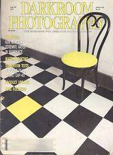 Darkroom Photography Magazine June 1989 Matrix Printing Zone Focusing Yosimite