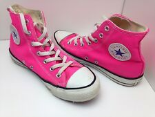 Converse Bright Pink High Top Chuck Taylor Size 6