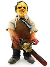 "Cinema of Fear Texas Chainsaw Massacre LEATHERFACE 12"" Plush Figure Mezco"