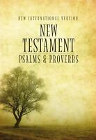 New Testament with Psalms and Proverbs by Biblica; Zondervan Staff