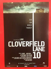Mary Elizabeth Winstead John Goodman - 10 Cloverfield Lane  - Polish promo FLYER