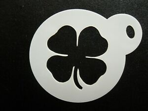 60mm clover design cake, cookie, craft & face painting stencil