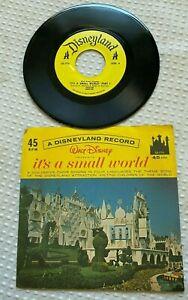 Vintage Vinyl LP Walt Disney Disneyland Records ITS A SMALL WORLD LG-775