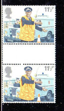 Great Britain #876 1979 London Police Mint Vf Nh O.G Gutter Pair