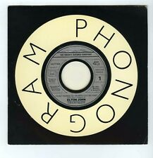 45 RPM SP PROMO ELTON JOHN I DON'T WANNA GO ON WITH YOU LIKE THAT