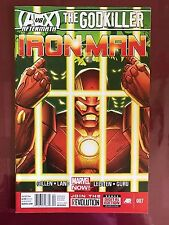 Iron Man 2012 7 Newsstand Variant Marvel Comics VF/NM