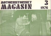 Motorhistoriskt Magasin Swedish Car Magazine 3 1976 Model T 032717nonDBE