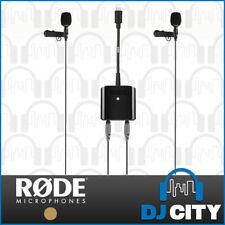 Rode SC6-L Mobile Interview Kit iOS Recording Pack w/ 2x SmartLav+ Mics