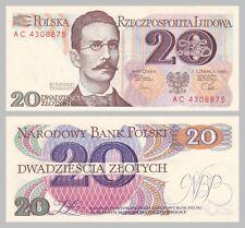 Polen / Poland 20 Zlotych 1982 p149a unz.