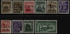 C.L.N. Verbania -  10  Francobolli nuovi - MH