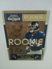 2008 Playoff Contenders Kenny Phillips New York Giants - Auto