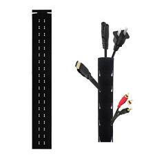 Flexibler Klettverschluss Kabelführung Kabelschlauch Kabelhülle Cord Organizer