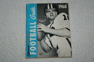 1968 Official Collegiate Football Guide * Harry Gonso Cover * Indiana Hoosiers