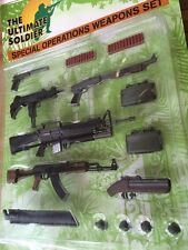 Ultimate Soldier Special Operations Weapons Set Carded 21st Century Toys