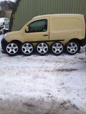 "Peugeot Alloy Wheels Set X5 205/50/17"" VGC 4x108 PCD"
