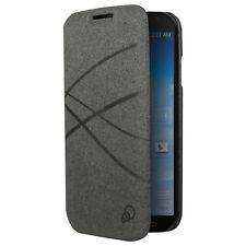 Cygnett CY1192CXFIB FiberFlip Case for Galaxy S4 - Retail Packaging - Charcoal