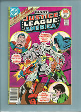 Dc Comics; Justice League Of America #142 Giant Size Issue Nice!