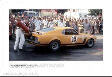 BOSS 302 MUSTANG #15 St.Jovite-Trans-Am,August 2,1970-Jones Pit Stop Car Poster