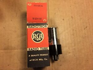 RCA BRAND NOS // NIB 34GD5A TUBE RCB166