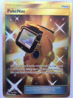 PokeNav 181/168 Gold Secret Rare Celestial Storm Pokemon TCG Card