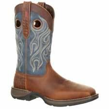 Durango Rebel by  Steel Toe Pull-on Western   Casual   Western Brown Mens - Size
