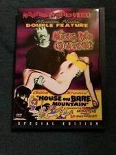 MONSTER NUDIE DOUBLE FEATURE - KISS ME QUICK & HOUSE ON BARE MOUNTAIN - DVD