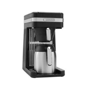 Bunn Coffee Maker Speed Brew Drip Type Thermal Carafe 10-Cup Platinum Black