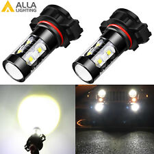 Alla Lighting 5202 High Power 50W-Chip LED Fog Light Bulbs Driving Lamps Replace